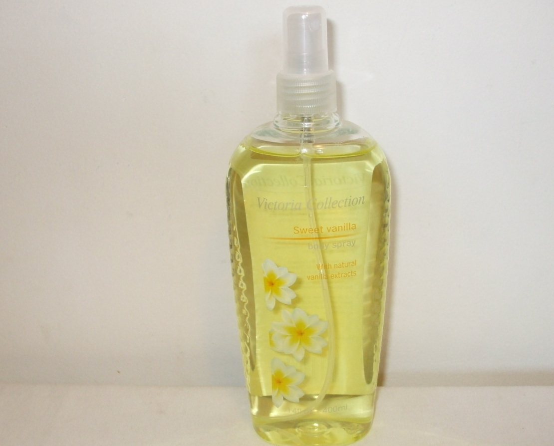 Victoria Collection New Sweet Vanilla Body Spray 14 oz