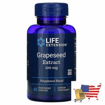 Life Extension, Grapeseed Extract, 100 mg, 60 Vegetarian Capsules - $40.46
