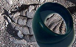 witchcraft HAUNTED RING telekinesis psychokinesis premonitions Zoroastrian magic - $49.97