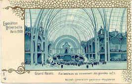 Expo Universelle Paris Vintage 1900 Post Card - $15.00
