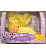 Anne Geddes Doll Baby Butterflies Bean Filled Y... - $49.00