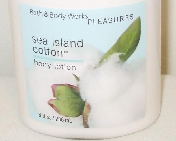 Bath and Body Works New Sea Island Cotton Body Lotion 8 oz