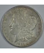 1891 P Morgan circulated silver dollar VF details - $39.50