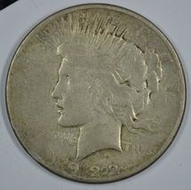 1922 S Peace circulated silver dollar  - $26.00