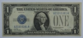 1928 Series US silver certificate about uncirculated AU  Funny back - $60.00