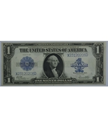1923 Series Large US silver certificate uncirculated  Horse Blanket  Woo... - $175.00