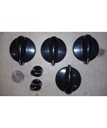 9W08 KNOBS FROM GLASS TOP RANGE, GOOD CONDITION - $10.66