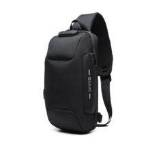 Crossbody Bag w/ USB Charging - Security Combo Lock - QwikCard Access - $35.95