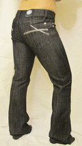 New Rock & Republic Designer Bootcut Denim Jeans Kiedis Sz 29 8 Stroke Blue - $69.25
