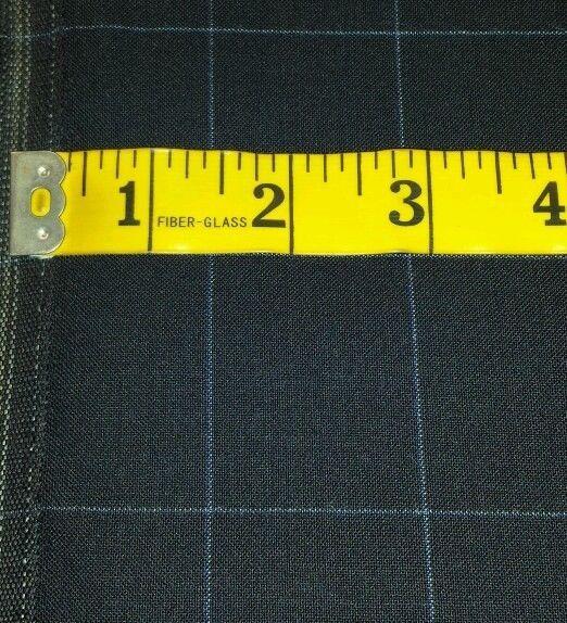 Italian Wool Super 130'S Desinger Suit Fabric MSRP 950   5.5 yard