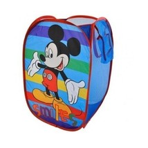 Disney Clothes Hamper Pop Up Child Laundry Handles Toy Storage Organizer... - $403,66 MXN
