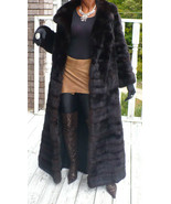 MInt Elegant Young Extra long Full length genuine Russian Sable Fur Coat... - $12,999.99