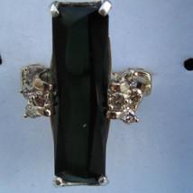 New Estate Huge 9.75 carat Natural green Tourmaline & Diamond 14k gold r... - $2,699.00