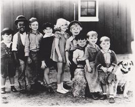 Little Rascals 2 Vintage 8X10 BW Comedy TV Memorabilia Photo - $4.99