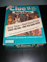 1987 Clue II Murder in Disguise VCR Game - $30.00