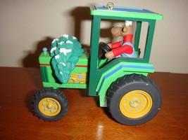 Hallmark 1996 Holiday Haul Tractor Ornament - $9.79