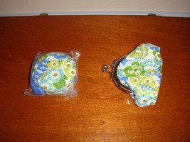 Vera Bradley English Meadow Mini Kisslock & Tape Measure, NWOT (2 Items) - $39.99