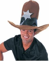 HUGE COWBOY HAT  with STAR GET NOTICED!! - $20.00