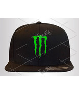 Monster Snapback Snapbacks Energy Drink Power Snapback Snapbacks Hat Hats Caps