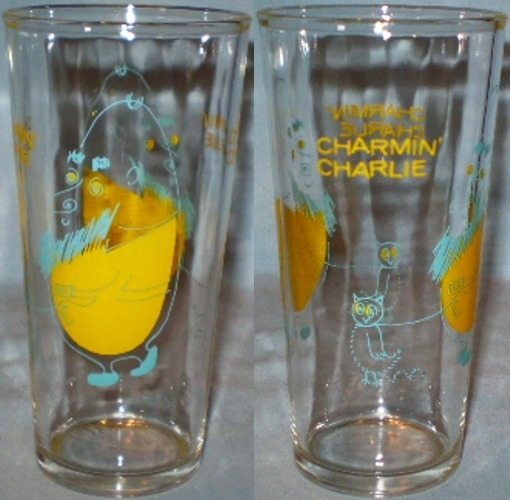 Primary image for Charmin' Charlie Cartoon Glass