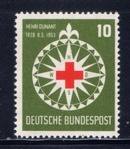 1953 Red Cross Germany Postage Stamp Catalog Number 696 MNH
