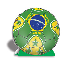 "Beistle 3-D Centerpiece - Brasil 10""- Pack of 12 - $40.50"