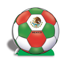 "Beistle 3-D Centerpiece - Mexico 10""- Pack of 12 - $40.50"