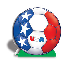 """Beistle 3-D Centerpiece - United States 10""""- Pack of 12 - $42.22"""