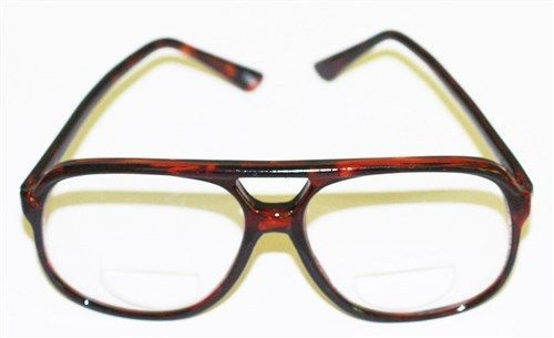 reading glasses bifocal 70 80 s it style large