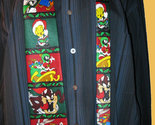 LOONEY TUNES Christmas Holiday Cartoon Neck Tie - Ho Ho Ho - FREE SHIPPING