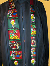 LOONEY TUNES Christmas Holiday Cartoon Neck Tie - Ho Ho Ho - FREE SHIPPING - $25.00