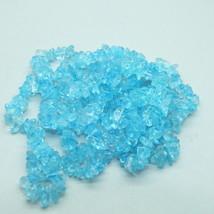 Blue Topaz Chips Semi Precious Stone Gem Beads - $12.00