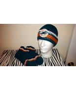 Miami Dolphins Crochet Team Colors Set - $35.00