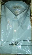 Men's Dress Shirt Short Sleeve Dress Shirt By Arrow -Color Blue (15.5) - $11.75