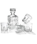 Whiskey Gift Set Bormioli Rocco Bar 7-Piece Glass Cocktail Ice Drink Gift - £27.93 GBP