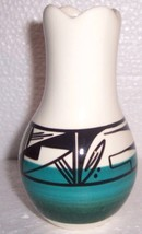 "Signed ""Layatinieth"" UTE Native Indian Glazed Art Potttery Vase - $84.41"
