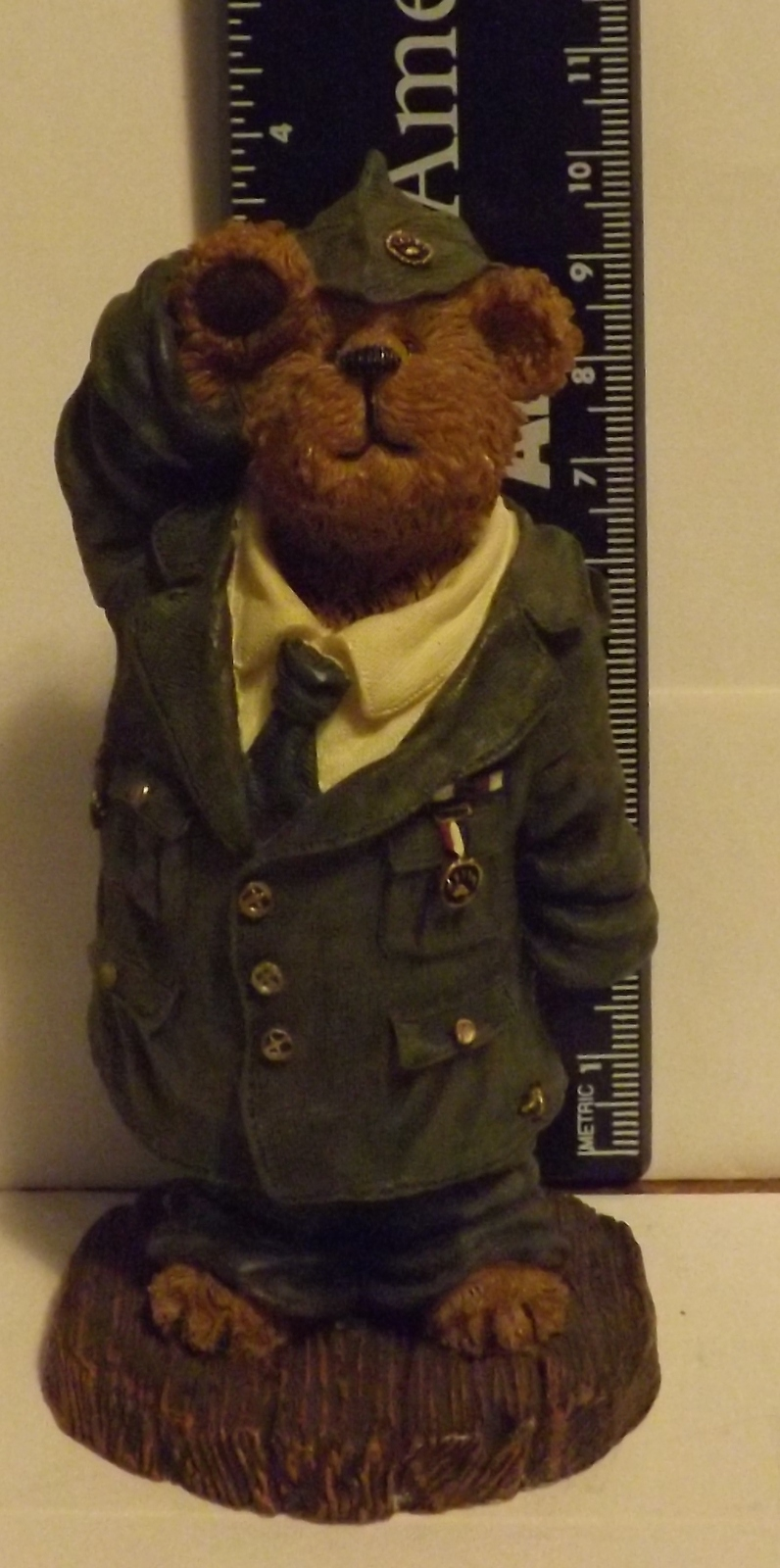 Boyds Bear Resin Billly Bearyproud...When I Grow Up