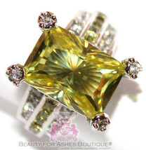Beauty for Ashes® Pale Peridot Green Prom Bridal Evening Cocktail Glam G... - $49.00