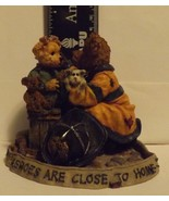 Boyds Bear Resin Chief Buckley with Jennifer...To the Rescue - $14.99