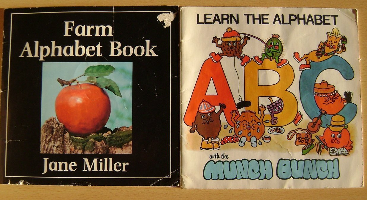 Primary image for 2 Alphabet books for children --FREE!!