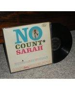 Sarah Vaughn No Count Sarah Blues LP - $3.99
