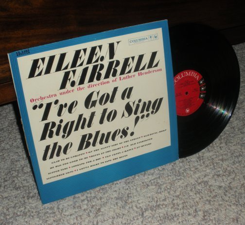 Eileen Farrell I've Got a Right to Sing the Blues LP