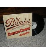 Cheech and Chong Big Bambu LP Record - $2.49