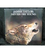James Taylor Never Die Young 1988 Columbia Records - $3.99