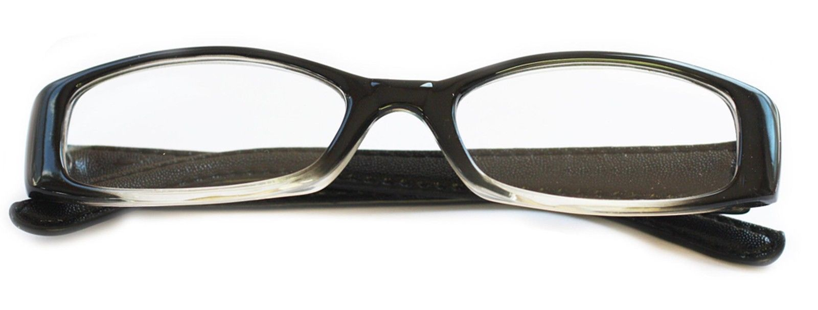 Reading Glasses ~ Posh ~ Rectangle Lens Black Frame ...
