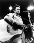 Primary image for Johnny Cash QP Vintage 8X10 BW Country Music Memorabilia Photo