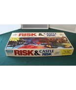 Risk & Castle Risk Combo Game Complete VGC Parker Brothers 1990 - $26.00