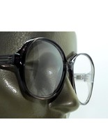 Mega Huge Oversize Statement Bold Polished Dark Gray Frame Reading Glass... - $23.00