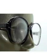 Mega Huge Oversize Statement Bold Polished Dark Gray Frame Reading Glasses +1.00 - $23.00
