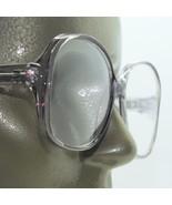 Reading Glasses Gray Large Oversize Grand Frame Acrylic Classic +1.50 St... - $21.50